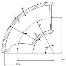 ОСТ 24.125.07-89 Колена штампованные для трубопроводов АЭС