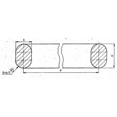 Овальные прокладки 94.155-МР