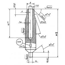 СТО ЦКТИ 462.01-2009 Штуцера для трубопроводов пара и горячей воды тепловых станций.