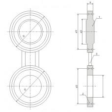 АТК 26-18-5-93 - Заглушки поворотные