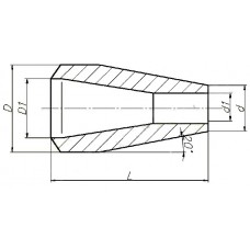 ОСТ 108.450.102-82 - Переход точеный
