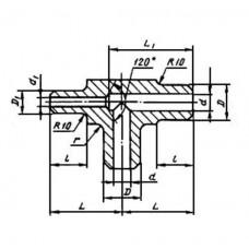 ГОСТ 22824-83 - Тройники несимметричные